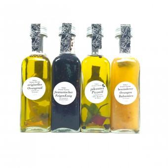 Gabys Grüner Garten veredelte Oliven Öle  - Essige 400Ml
