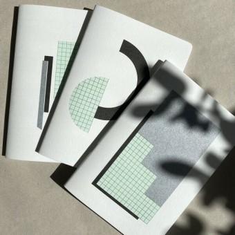 Notizbuch Dreierpack – FORMEN  – HERR & FRAU RIO