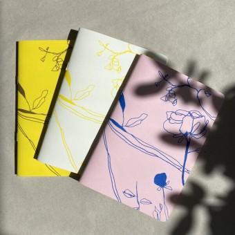Notizbuch Dreierpack – BUTTERCUP  – HERR & FRAU RIO