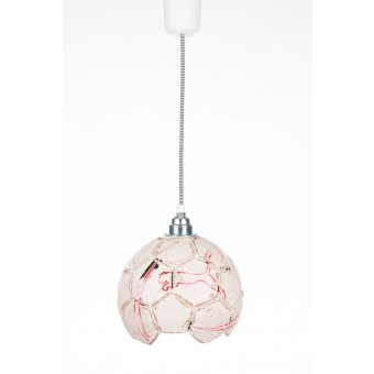 karolchicks Fussball Lampe Upcycling