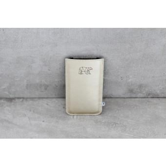 ElektroPulli Hülle für dein iPhone 6 in gold mit Bär