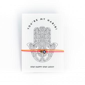 HYRES Armband Lucky Eye / Neon