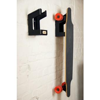 stückwerk parker (Wandhalterung für Longboard oder Skateboard, schwarz)