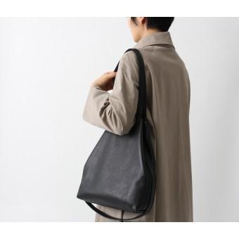 alexbender Multifunktionale Tasche echt Leder Schwarz