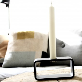 Hauszeitdesign 1glow, Kerzenständer aus Stahl