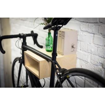 GUSTAV | Fahrrad Wandhalterung aus Holz | Fahrradwandhalter