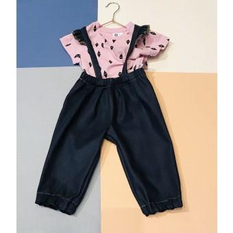 ZITAT Kids Jeans Latzhose
