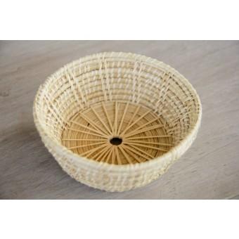 Korb, handgefertigt aus Rattan, dekorative Schale BY COPALA