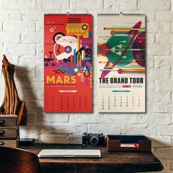 NASA Exoplanet Travel Bureau Series Kalender 2020 – DAC.design