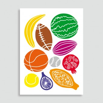 Family Tree Shop / Postkarte / Fruits´n Play