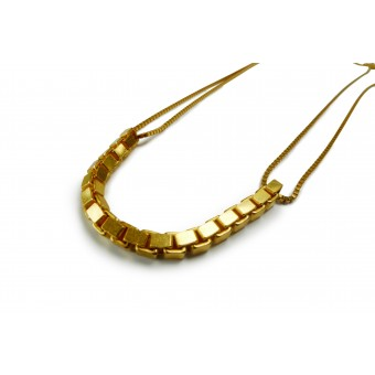Comtesse de la Haye Venezia Collier in Gold