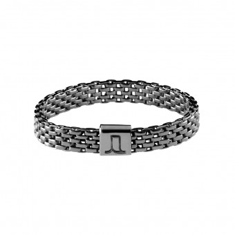 Jasmina Jovy Jewellery Decode! Mesh Ring RIDC00 fine black rhodium