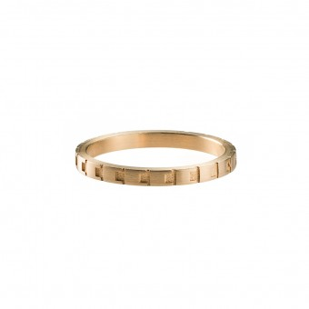 Jasmina Jovy Jewellery Decode! Ring RIDC02 gold