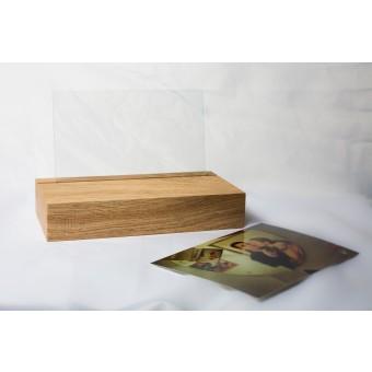 JL-Holz Fotoständer (Eiche unbehandelt)