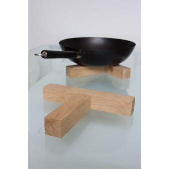 JL-Holz Topf-/ Pfannenuntersetzer (Eiche unbehandelt)