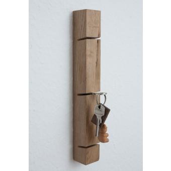 JL-Holz Schlüsselbrett (Eiche vollmassiv)
