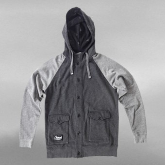 OBSERVED DISTORTION HOODY JACKET