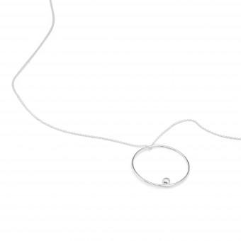 Jonathan Radetz Jewellery, Kette EFFECT, Silber 925, Sterlingsilber, Länge 43 cm, Handmade in Germany