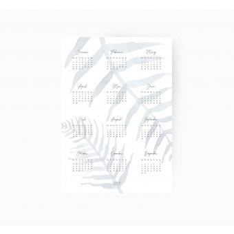 Kruth Design KALENDER 2019 / LEAF