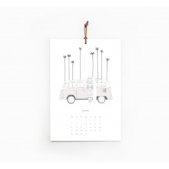 Kruth Design KALENDER 2019 / WANDERLUST