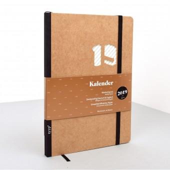 tyyp Kalender 2019 - Soft, Natur, DIN A5, Handmade