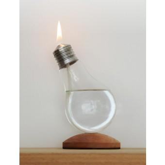 "pluraform Glühbirnen-Öllampe ""Keep On Shining"""