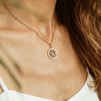 ST'ATOUR CANCER // KREBS – Sternzeichenkette in Gold, Silber oder Roségold