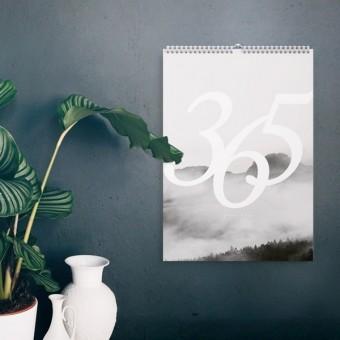typealive Wandkalender / Landscapes