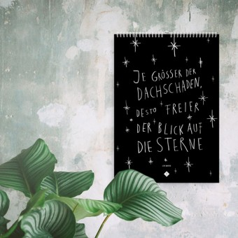 typealive Wandkalender / Life Quotes