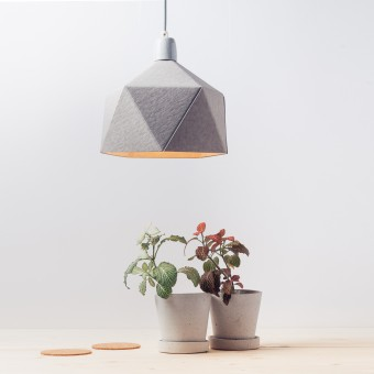 KAMI. geometric lamp shade