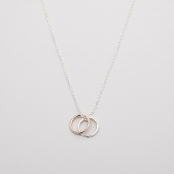 fejn jewelry - Kette 'bicolor circle'