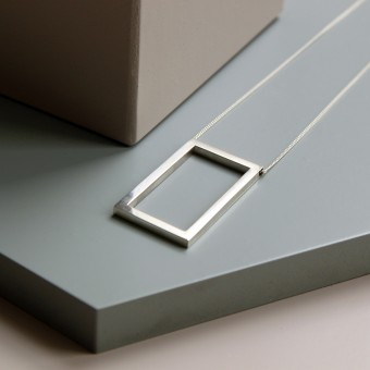 Puur Jewellery - Silber Kette No.1 - Geom Collection