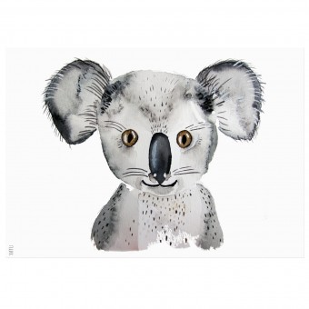 nuukk Koala-Poster (Din A4)
