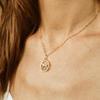 ST'ATOUR LEO // LÖWE – Sternzeichenkette in Gold, Silber oder Roségold