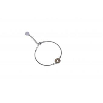 "BeWooden Armband aus Holz in runder Form ""Lini Bracelet Circle"""