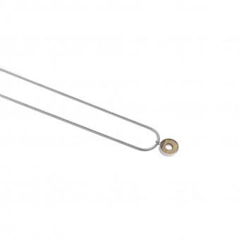 "BeWooden Halskette aus Holz in runder Form ""Lini Necklace Circle"""