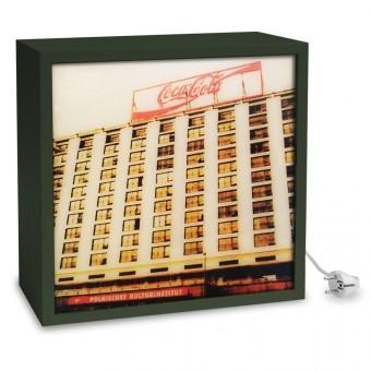 COGNOSCO Leuchtkasten - 37 x 37 cm:  Plattenbau Berlin