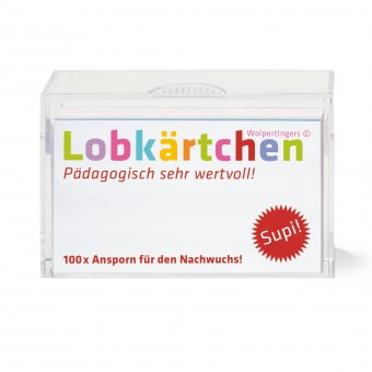 Lobkärtchen © Kinder