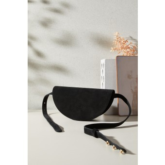 "LELLOR Halfmoon Bag ""Black"""