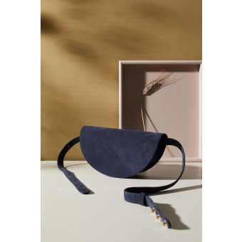 "LELLOR Halfmoon Bag ""Navy Blue"""