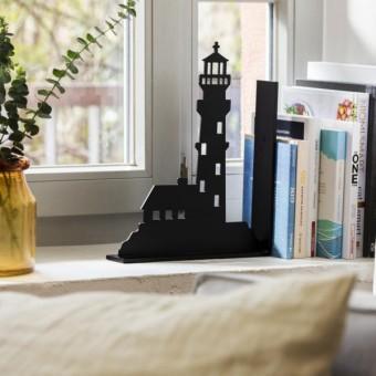 Dwenger Design Manufaktur | Buchstütze Leuchtturm