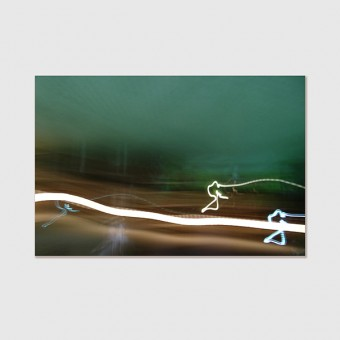 "ZEITLOOPS ""Licht"", Poster ca. A4 / A3"