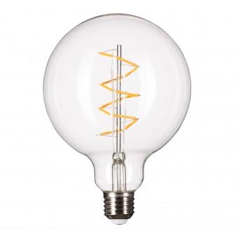 Lichtliebe Edison Spiral LED-Leuchtmittel im Retro Design mit nur 1,8 Watt E27 Fassung