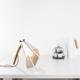 Lichtliebe – Tischleuchte Beacon weiß