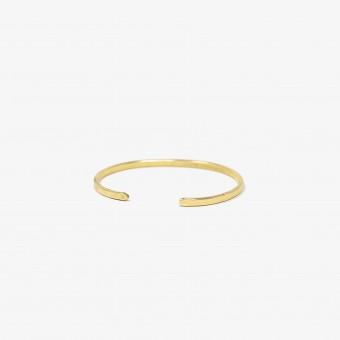 Lois Mathar – Armband Messing, schmal, 3,5 mm