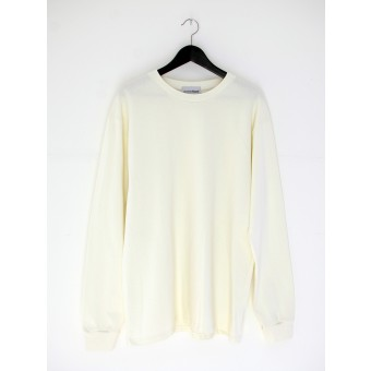 AnotherBlank BASIC LONGSLEEVE OFF-WHITE 240G AB_LS_M_016