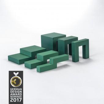 Ludofactum Design-Bauklötze ludobricks (grün)