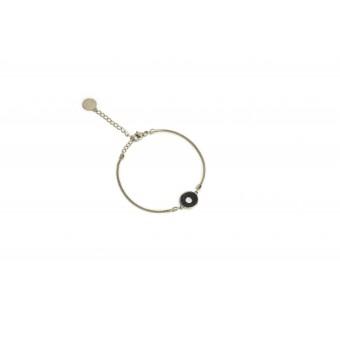"BeWooden Armband aus Holz in runder Form ""Lux Bracelet Circle"""