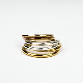 ST'ATOUR MAGDA – Creolen 16 mm in Silber // Gold // Roségold