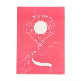 Feingeladen // ROUNDABOUT // Heißluftballon (FR) // RISO-Kunstdruck, A5